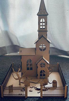 Haunted Church Scene