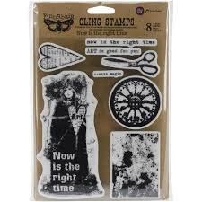 Finnabair Cling Stamp - Now Is The Right Time