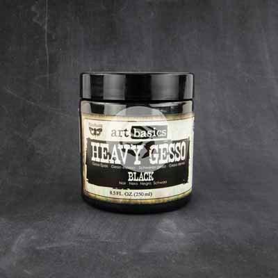 Art Basic - Heavy Gesso - Black 8.5oz