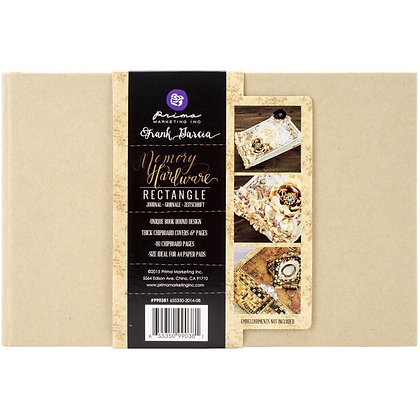 "MemoryHardware Chipboard Journal - 5 3/4"" x 8 3/4"""