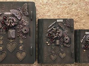 Mixed Media Book Boxes