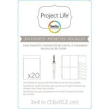 "Project Life Photo Sleeves - Becky Higgins 3""x4"""