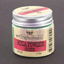 Art Igredients - Mica Powder - Green