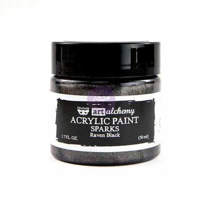 Art Alchemy - Sparks - Raven Black