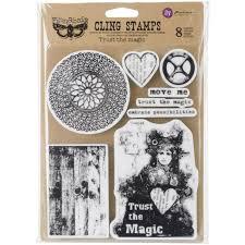 Finnabair Cling Stamp - Trust The Magic