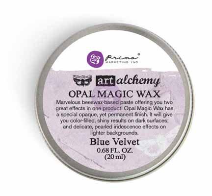 Art Alchemy - Opal Magic Wax - Blue Velvet