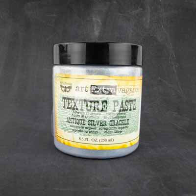Art Basic - Texture Paste - Antique Silver Crackle