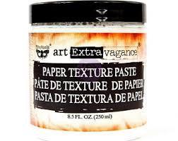 Art Extravagance Paper Texture Paste 250ml