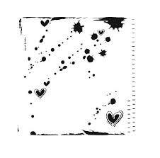 Rhonda Palazzari - Mini Confetti 6x6 Stencil 345