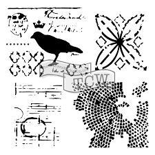 Rebekah Meier 6x6 Mini Raven Mosaic 586