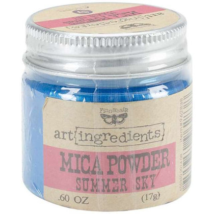 Art Ingredients  - Mica Powder - Summer Sky