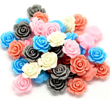 Resin Flowers 14mm