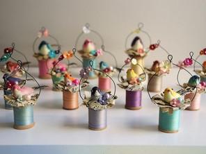 Cute Little Bird Ornaments