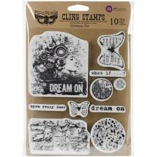 Finnabair Cling Stamp - Dream On