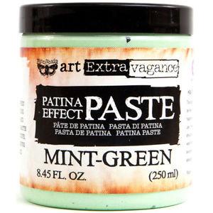 Art Extravagance - Mint - Green Rust