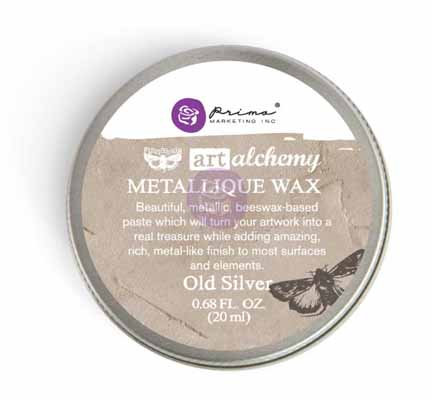 Art Alchemy - Metallique Wax - Old Silver