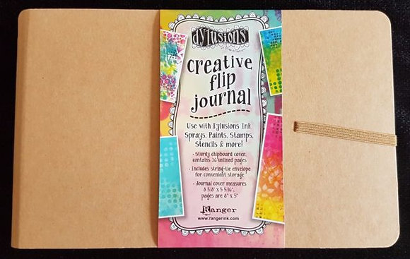 Dylusions Small Flip Journal 8.5 x 5.5