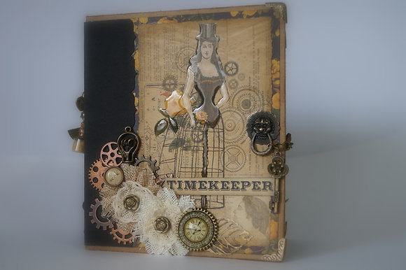 Timekeepers Paper Bag Mini Album