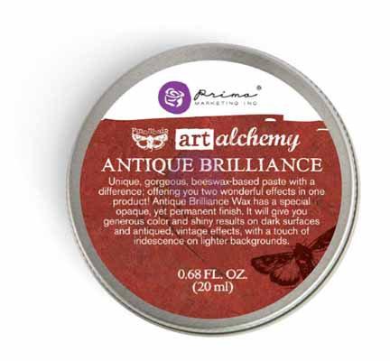 Prima Art Alchemy - Antique Brilliance - Fire Ruby