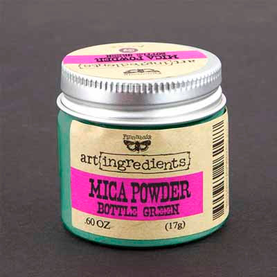 Art Ingredients  - Mica Powder - Bottle Green
