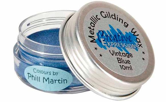 Vintage Blue Gilding Wax