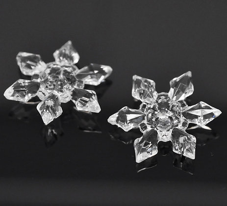 Snowflake Acrylic Pieces