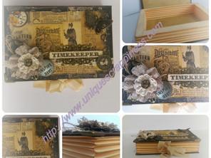 Timekeepers Keepsake Box
