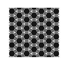 Ronda Palazzari Mini Honeycomb 6x6 Stencils 346s