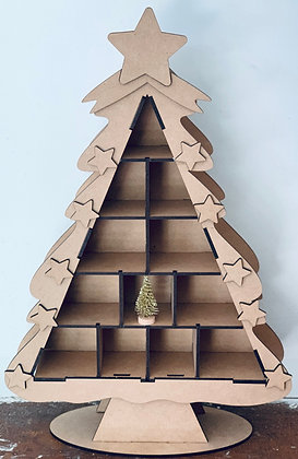 Christmas Tree Shadow Box