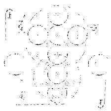 Rebekah Meier Coptic impressions 6x6 Stencil 485