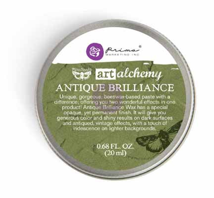 Art Alchemy - Antiq Brilliance - Lucky Emerald