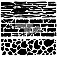 Carmen Medlin 6x6 Mini Rock Wall 573