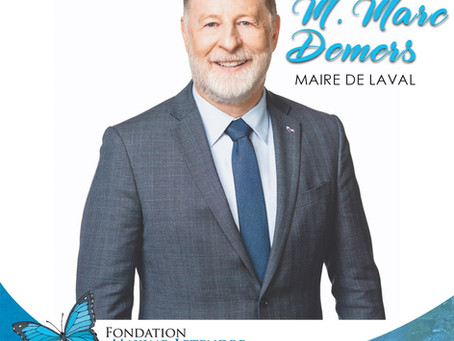 Un ambassadeur de marque pour la Marche du grand défoulement de Laval !
