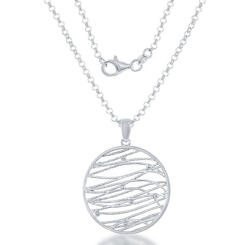 STERLING SILVER NECKLACE L-3627