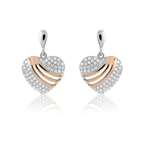 MICRO PAVE EARRINGS D-4471
