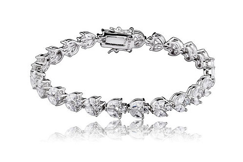 Timeless Marquise Stone Style Tennis Bracelet TB-BR311