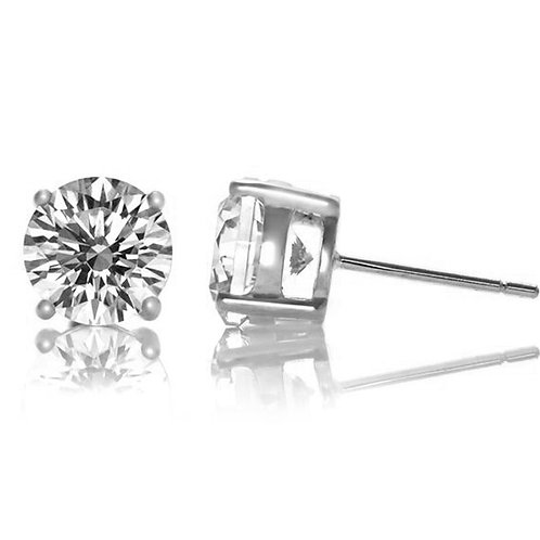 .50ctw Classic Round Stone Stud Earrings TCE-EAR600-7MM