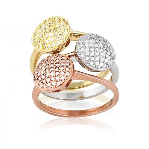 MICRO PAVE RING W-9466