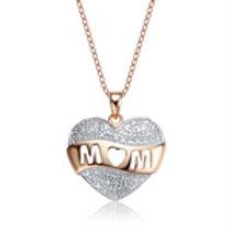 Genuine Diamond MOM Pendant CSN-NS05