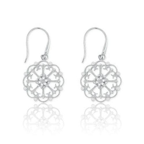 DIAMOND EARRINGS 1/10ct Diamond