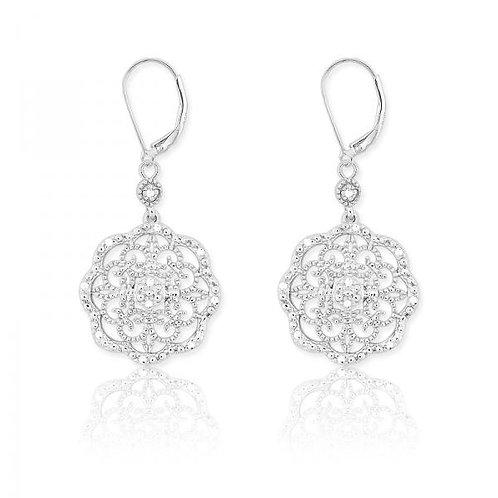 DIAMOND EARRINGS 1/10ct Diamond D-4881
