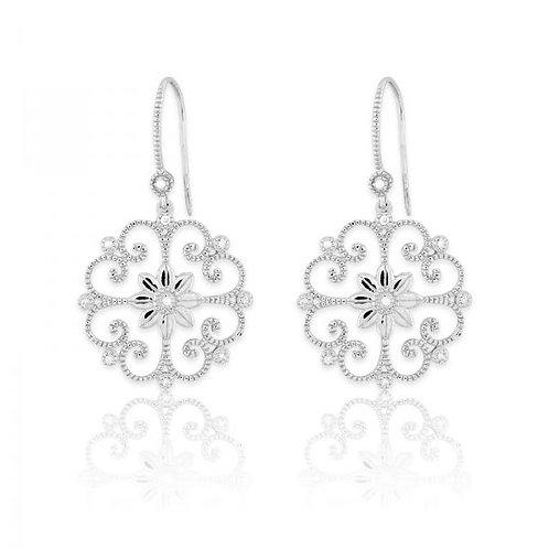 DIAMOND EARRINGS 1/10ct Diamond D-4889
