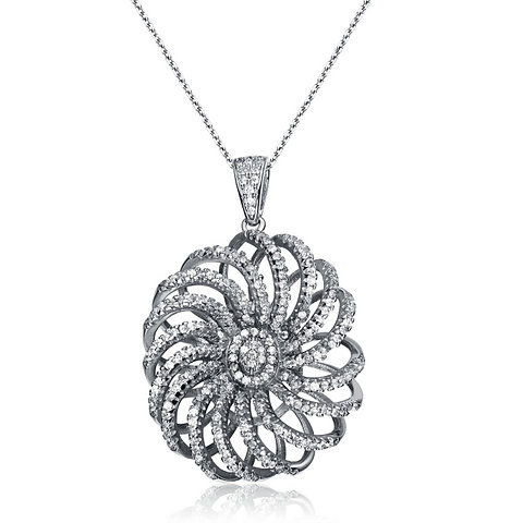 Image result for pave setting pendant