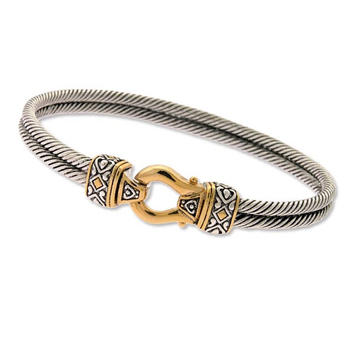 TT ANTIQUE STYLE BANGLE U-6198