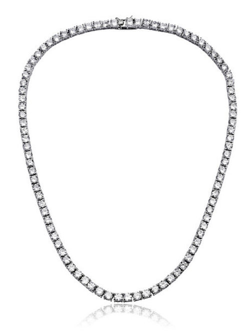 Sterling Silver 3MM Classic Tennis Necklace TN-NEC2038