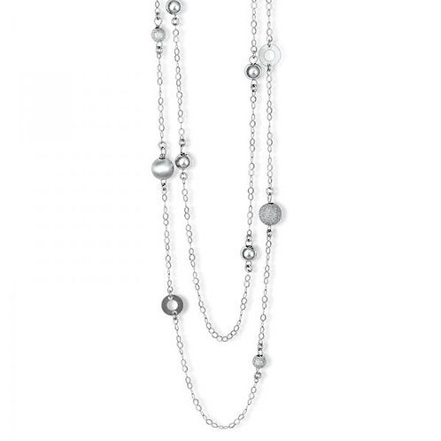 SILVER NECKLACE L-3519
