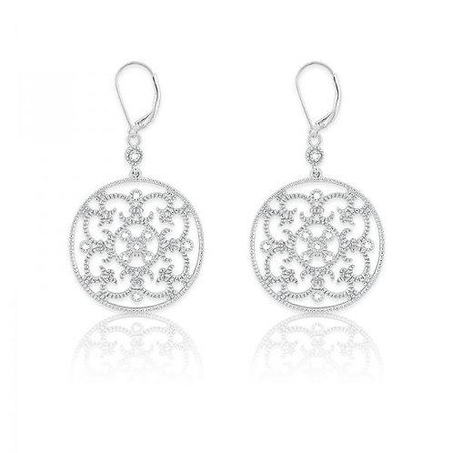 DIAMOND EARRINGS 1/10ct Diamond D-4882