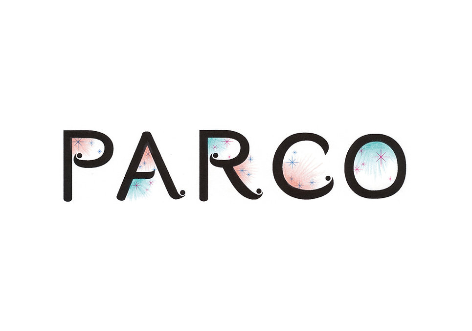 PARCO_イベントロゴデザイン