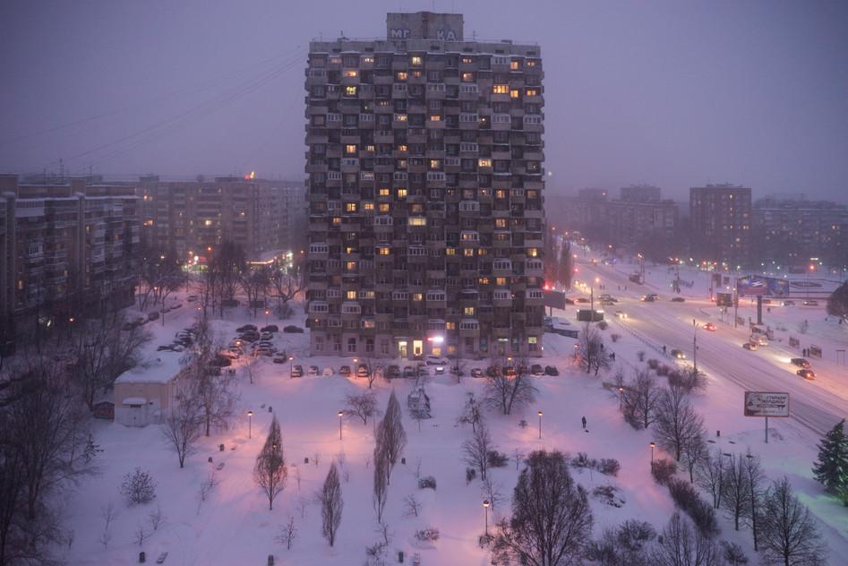 Corn-building, Samara,