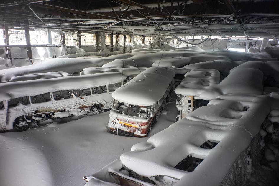 Norilsk bus depot